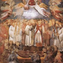 1483346687 giotto   legend of st francis    20    death and ascension of st francis